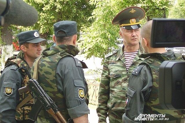 Во время захвата «приморских партизан».