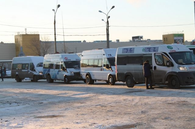 Маршрутных такси на улицах Челябинска стало меньше