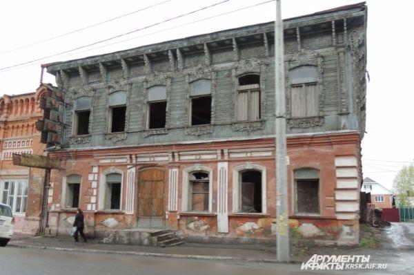 Ачинск. Жилой дом конца XIX века