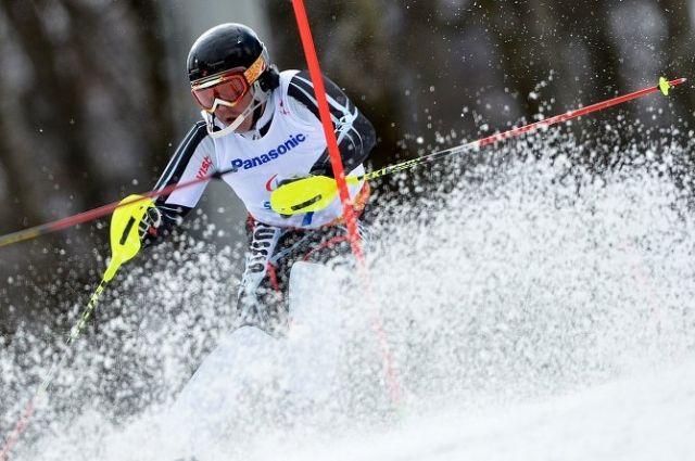 Красноярский горнолыжник Валерий Редкозубов.
