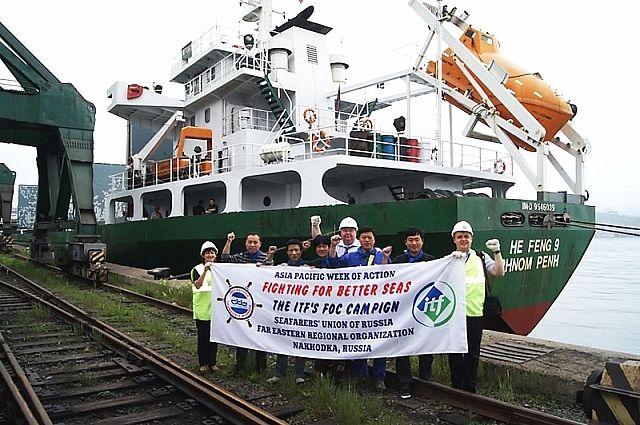 Моряки часто вынуждены бастовать, чтобы отстоять свои права.