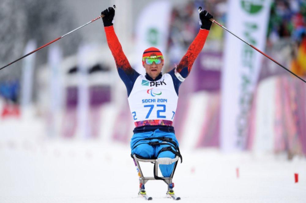 14 марта в биатлонной гонке на 15 км россияне заняли весь подиум: Роман Петушков (на фото) занял первое место, Григорий Мурыгин финишировал вторым, а третье место досталось Александру Давидовичу.