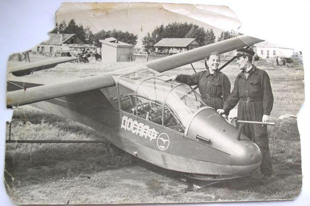 На таком чехословацком планере ЛФ-109 Анна Пьянкова (девичья фамилия) летала в 1957 году