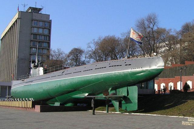 Подводная лодка С-56, мемориал во Владивостоке.