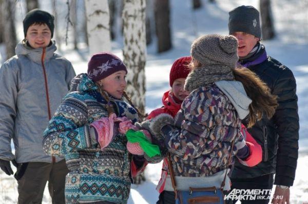 К участию в Дне снежка и пряника иркутяне готовились заранее, собирая свои команды.