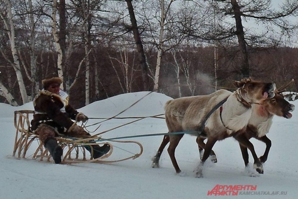 Гонщикам предстояло преодолеть 12 с половиной километров снежной трассы по пересечённой местности.