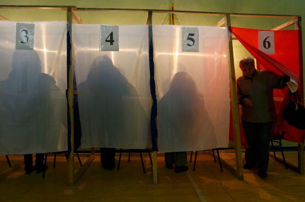 К пяти часам вечера по местному времени явка избирателей составила 70%.