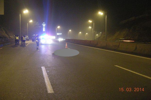 Вечером на трассе нужно быть особенно осторожным.