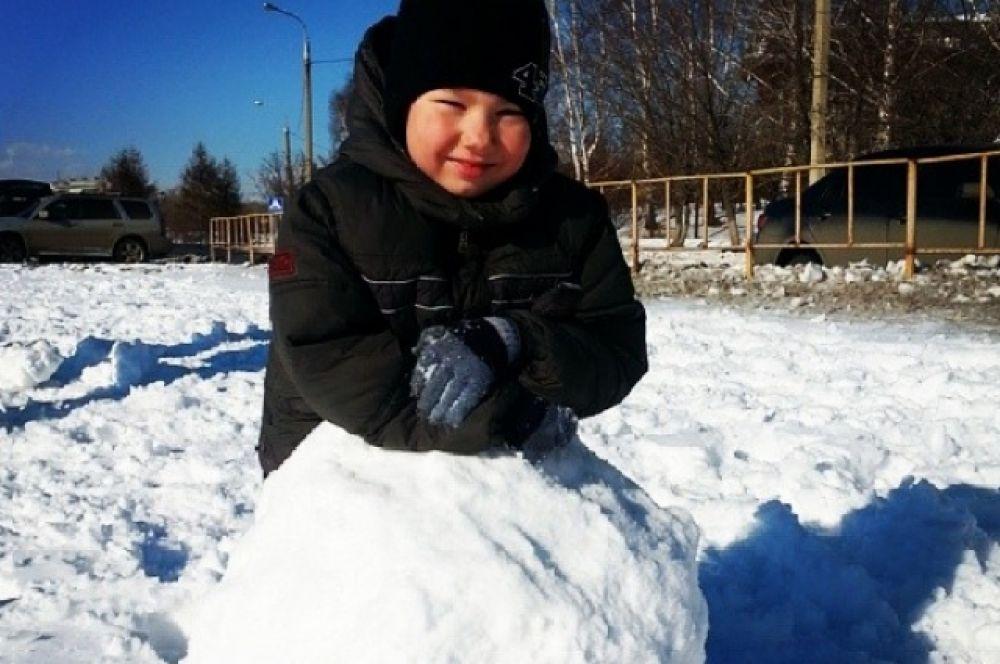 А вы давно лепили снеговика?