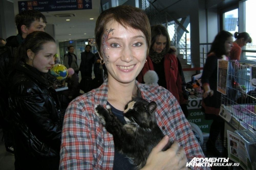 Представитель организации помощи животным «Хвостики» Светлана Олейникова.