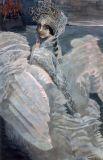 Знакомство с Мамонтовым привело Врубеля в Санкт-Петербург, где он принимал участие в гастролях Русской частной оперы. В этом турне Врубель познакомился с певицей Надеждой Забелой, которую изобразил на картине «Царевна-Лебедь». Позже Михаил и Надежда назвали своего сына в честь Мамонтова Саввой, но ребёнок скончался в возрасте двух лет.