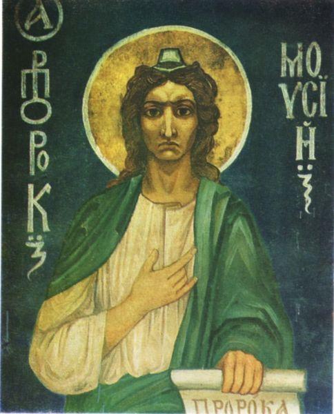 В 1884 году Врубеля впервые пригласили поработать над реставрацией храма – это была Кирилловская церковь, построенная в Киеве в XII веке. Художник написал несколько икон, а позже выполнил ряд эскизов для Владимирского собора.