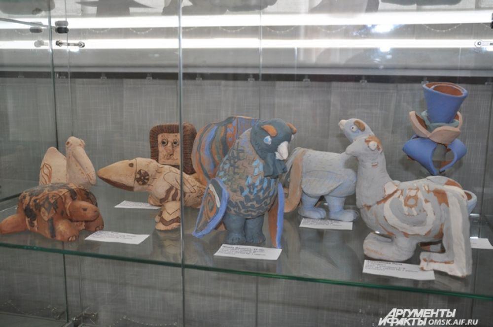 Выставка детских школ искусств Омска «Симфония цвета».