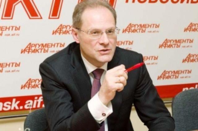 Бывший губернатор НСО Василий Юрченко.