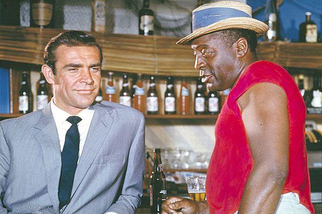 «Доктор Ноу». В главной роли Шон Коннери. 1962 год.