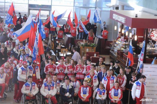 В общей сложности российские паралимпийцы завоевали 80 медалей.