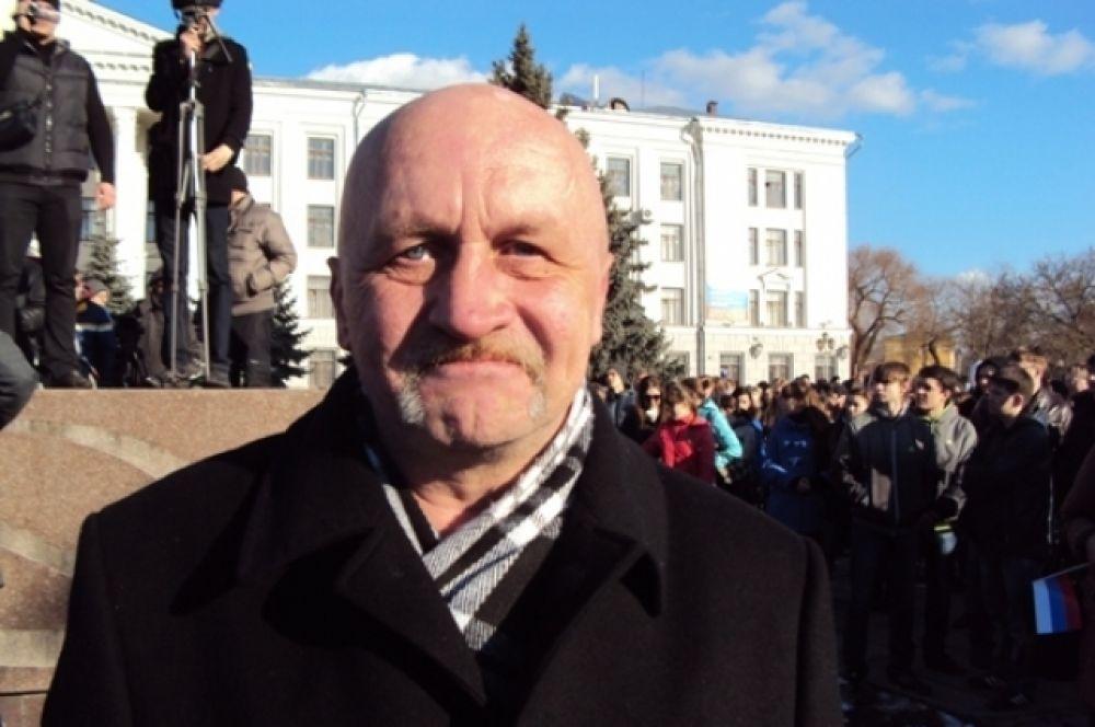 представитель  Всероссийской общественной организации инвалидов войны в Афганистане-инвалидов войны Михаил Кутузов