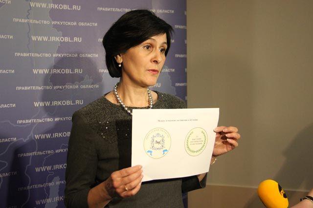 Елена Осипова представила эскиз будущей награды.