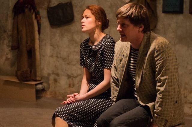 Мария Зимина и Сергей Яценюк помогали сочинять спектакль.