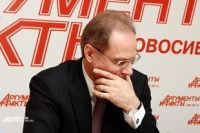 Василий Юрченко в гостях у редакции АиФ-Новосибирск.