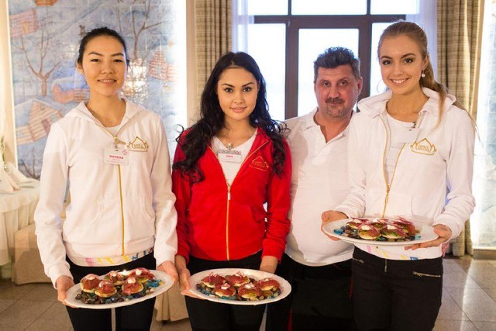 Мастер класс от шеф-повара  Олега Демидова завершен.