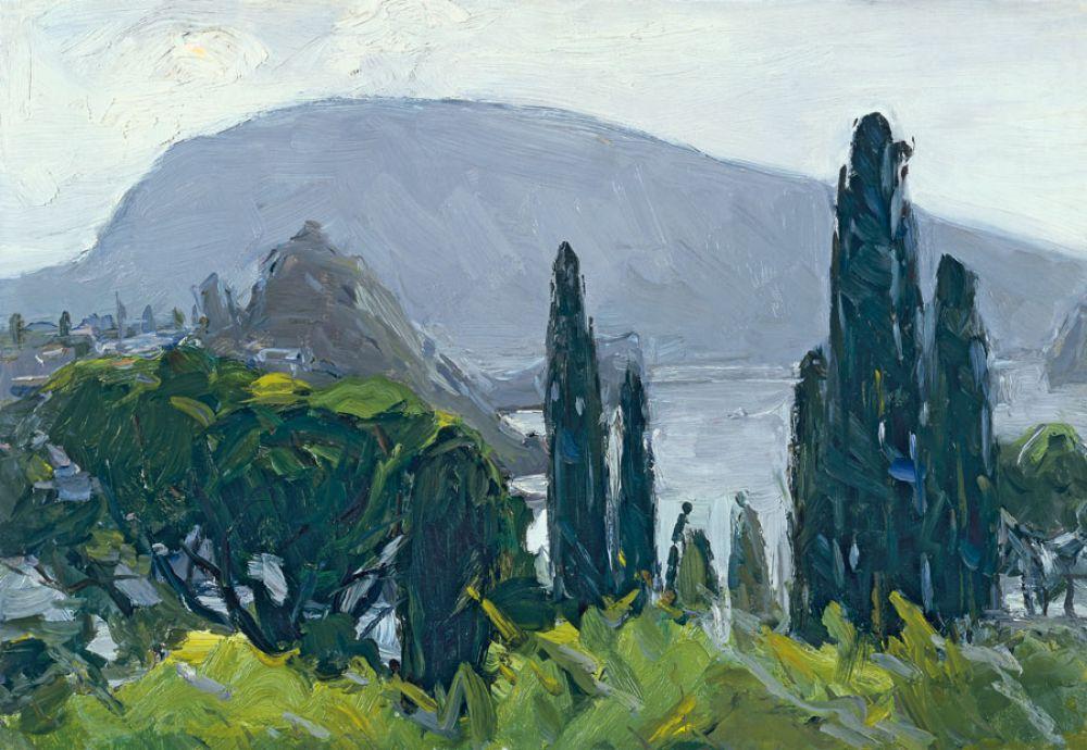 Советский художник Арсений Семёнов написал множество пейзажей, в том числе и крымских. Семёнов часто проводил в Крыму лето, писал Ялту, Гурзуф и многие другие местные виды.