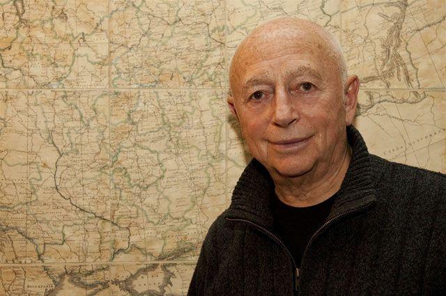 Александр Городницкий. 2012 год.