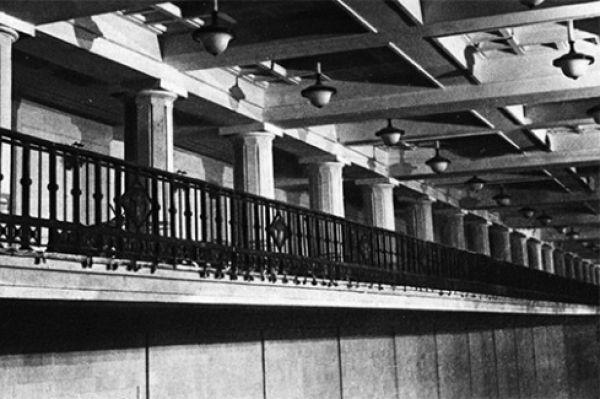 Станция метро «Комсомольская» в 1935 году.
