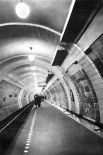 Станция метро «Лубянка» в 30-х годах.