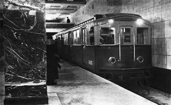 Станция метро «Сокольники», 1935 год.