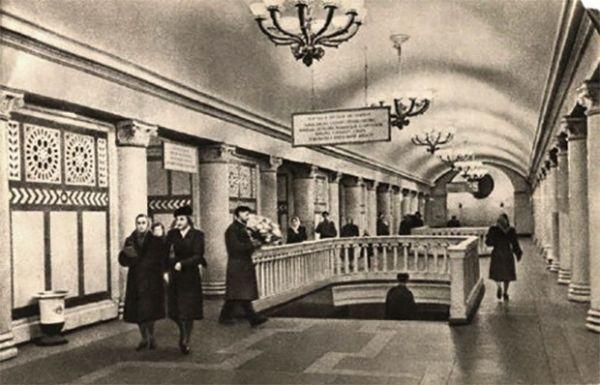 Станция Кольцевой линии метро «Павелецкая».
