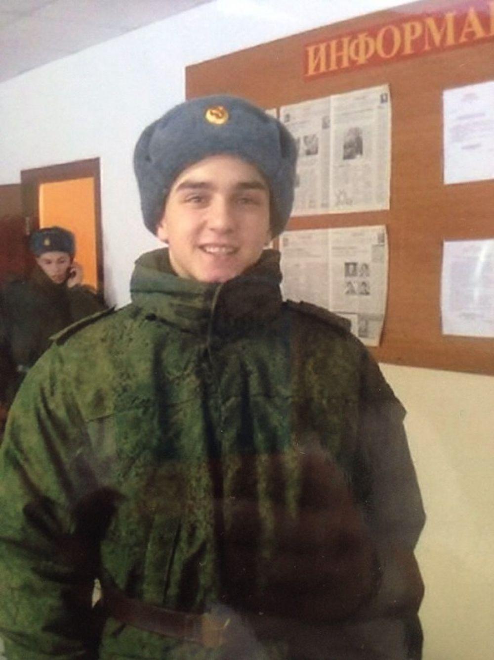 Призывник Александр Шваб.