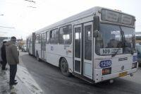 Омичи ждут 109-й автобус не более восьми минут.