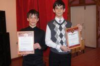 Матвей Мецлер и Андрей Тоцкий получили благодарственные письма.