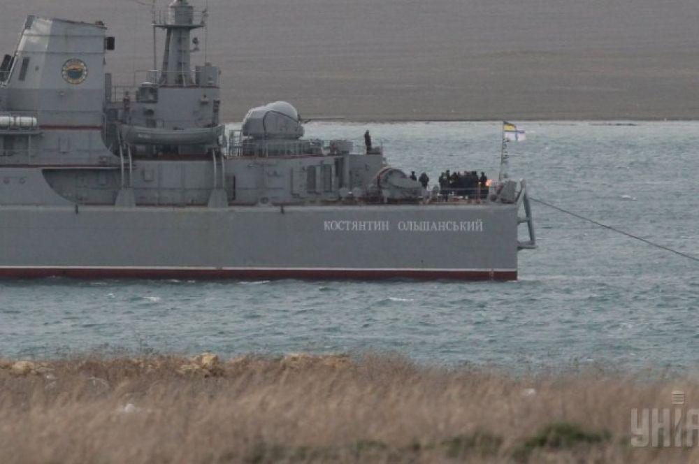 Десантный корабль «Константин Ольшанский»