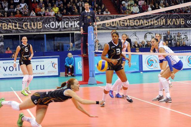 Лучшая волейбольная команда Европы обыграла «Омичку».