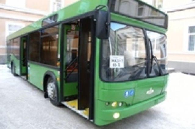 Схема движения автобусов №75 и