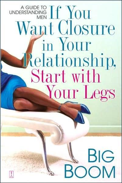 Автором этой книги является Биг Бум – бывший сутенёр из США. В своей работе он даёт советы о том, как проанализировать отношения, основываясь на форме ног, а также повлиять на семейную жизнь с помощью различной одежды и косметики.