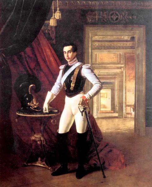 Также Кипренский написал самый известный портрет графа Дмитрия Шереметева, известного благотворительной деятельностью.