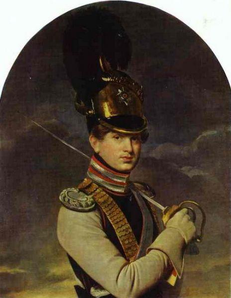 Двумя годами позже Кипренский написал портрет Никиты Трубецкого, единокровного брата знаменитых декабристов Сергея и Петра Трубецких.