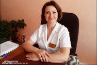 Главный врач Петропавловского городского роддома Елена Дорошенко.