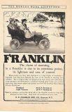 «Очарование машины «Франклин» это огромная мощность и легкость при управлении». Реклама автомобиля «Франклин», 1905 год.