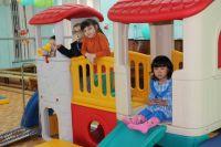 В детской больнице появился игровой комплекс.