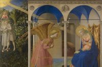 «Благовещение», Фра Беато Анжелико, 1430–1432, Прадо. Фрагмент.