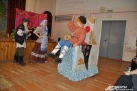 Спектакль про Емелю-дурочка поставил театр «Завалинка».