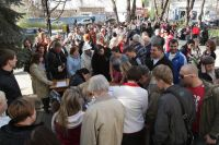 Запись на получение паспорта гражданина РФ в одном паспортных столов Симферополя.