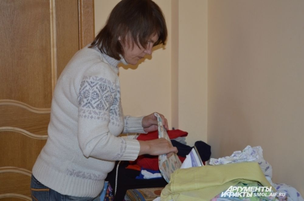 В Доме есть и прачечная, можно и постирать, и погладить белье.