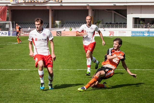 Футболисты «Урала» начали подготовку к матчу с махачкалинским «Анжи»