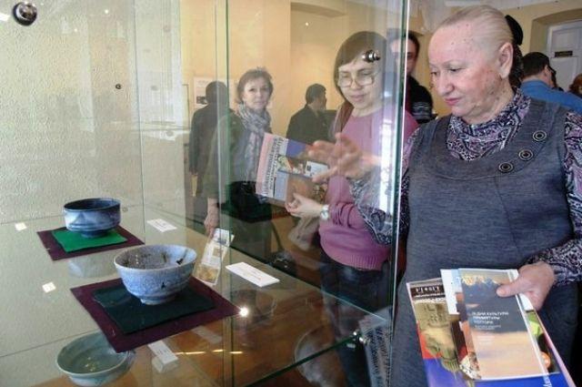 Выставка японской керамики