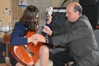 В Омске наградили педагогов в сфере искусств.